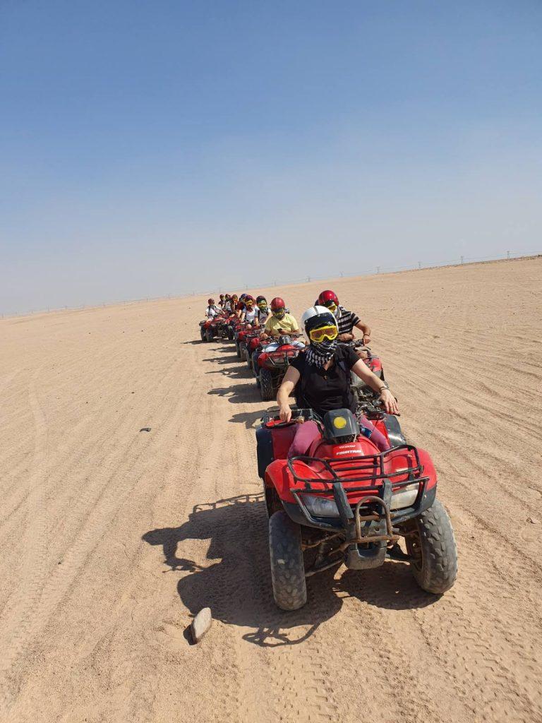 Vožnja kvadovima u Egiptu
